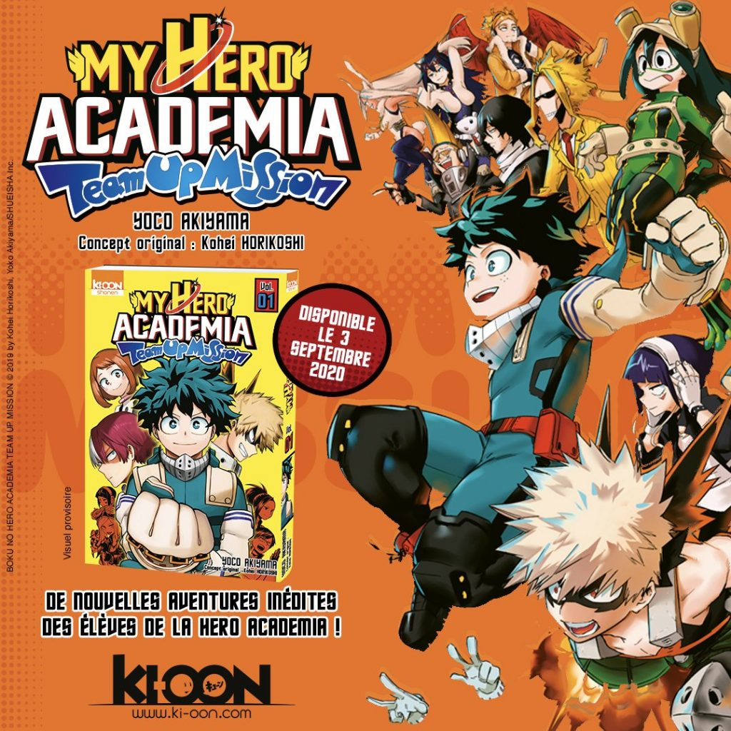 spin-off my hero academia
