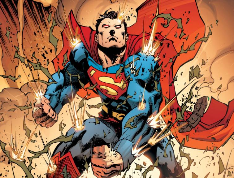 Superman Up in the sky, l'homme d'acier confronté à ses limites