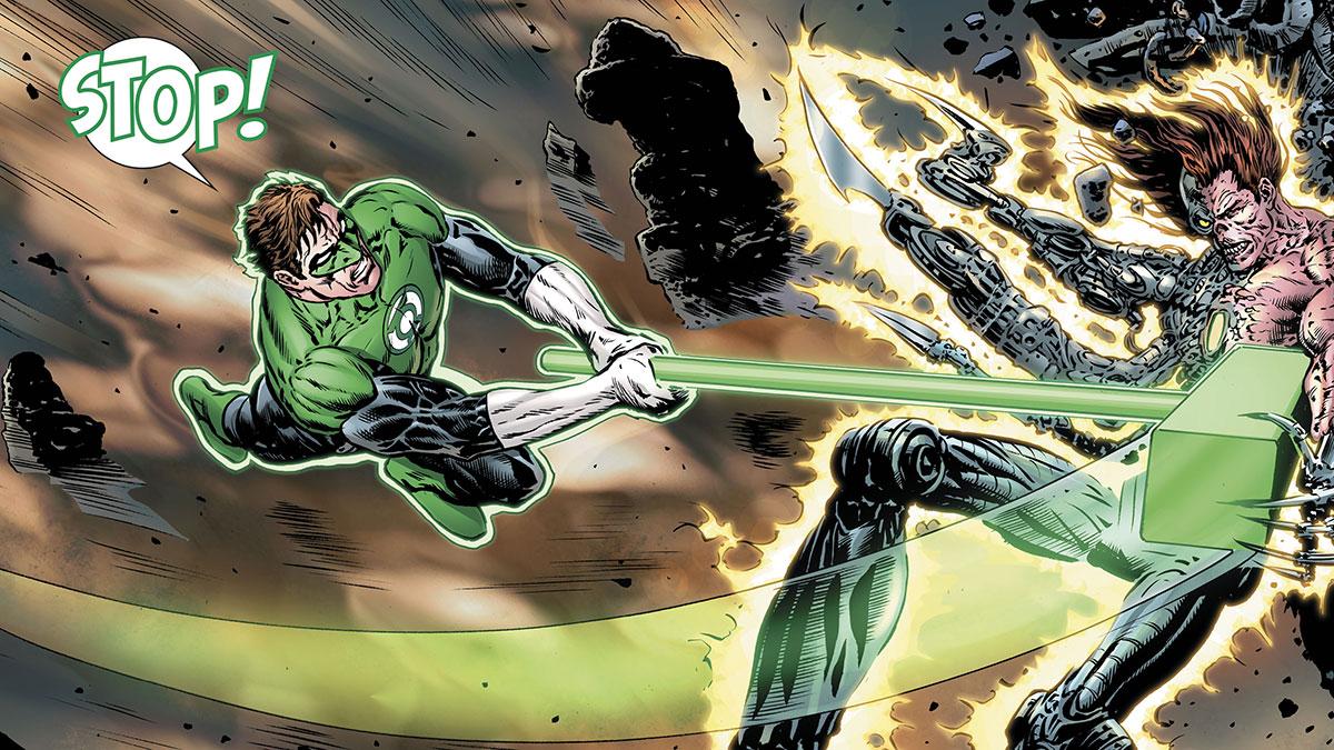 Hal Jordan : Green Lantern (tome 2), une version déjantée du policier de l'espace