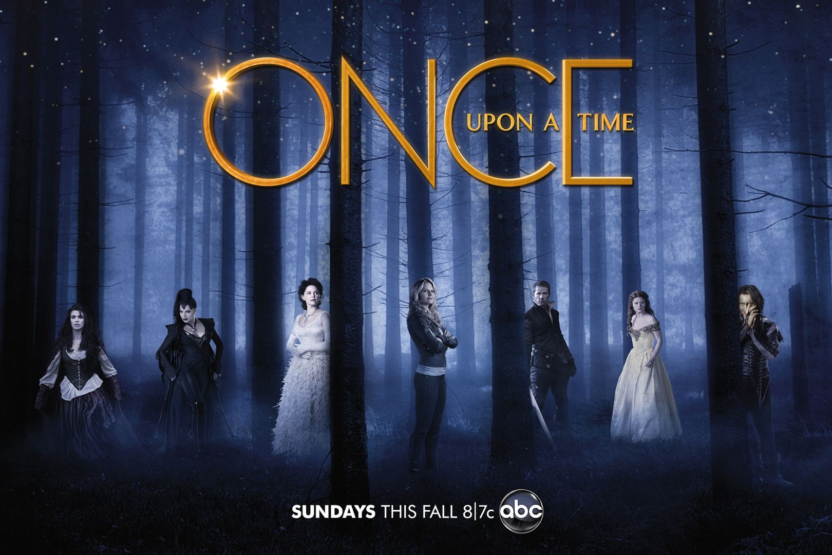 Affiche promotionnelle de la saison 1 de Once Upon a Time
