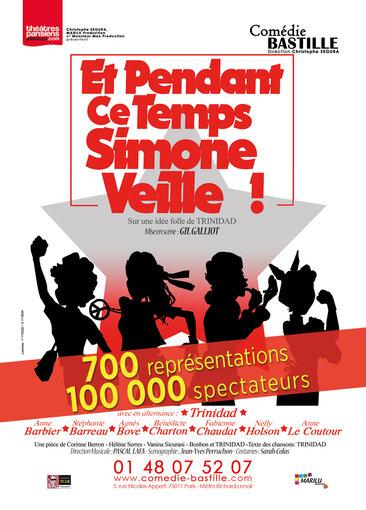 Spectacle Et pendant ce temps, Simone Veille ! à la Comédie Bastille