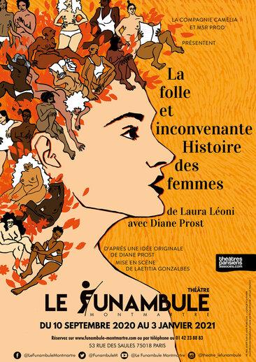Spectacle La folle et inconvenante histoire des femmes au Funambule Montmartre