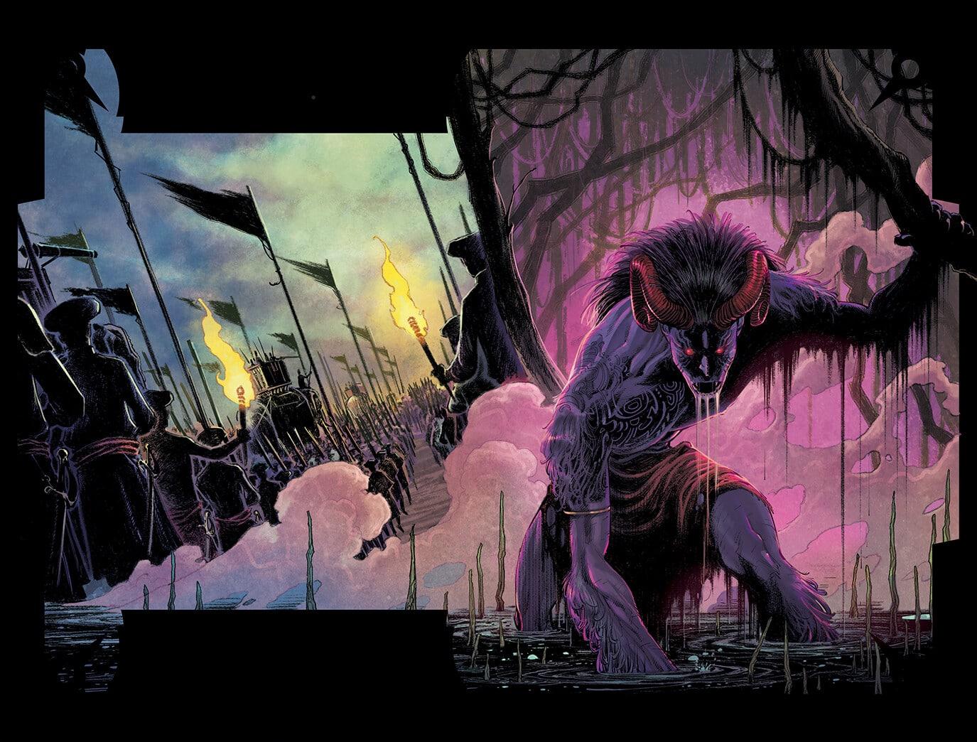 These Savage Shores d'Hi comics, le sang coule en Inde