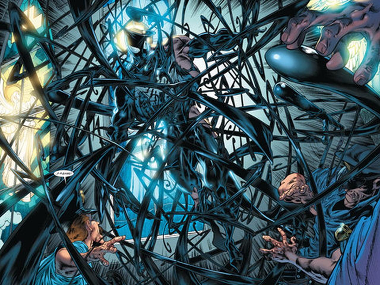 Les débuts de Venom (droits réservés à Marvel Comics)