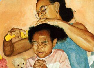 cheveux, afro, coiffure, enfants, influence, assumer