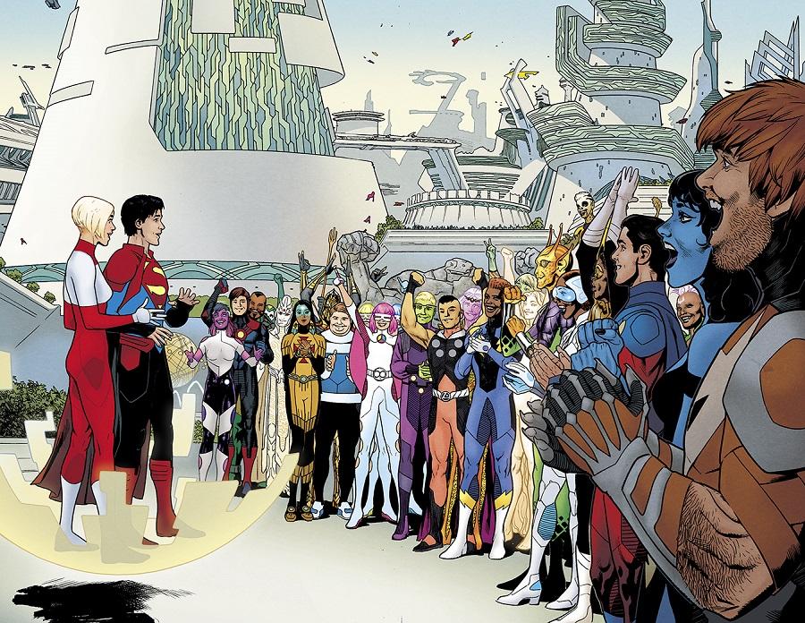 Superboy rencontre la Légion