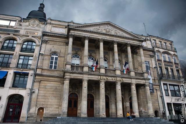 Le théâtre Jean Vilar à Saint-Quentin