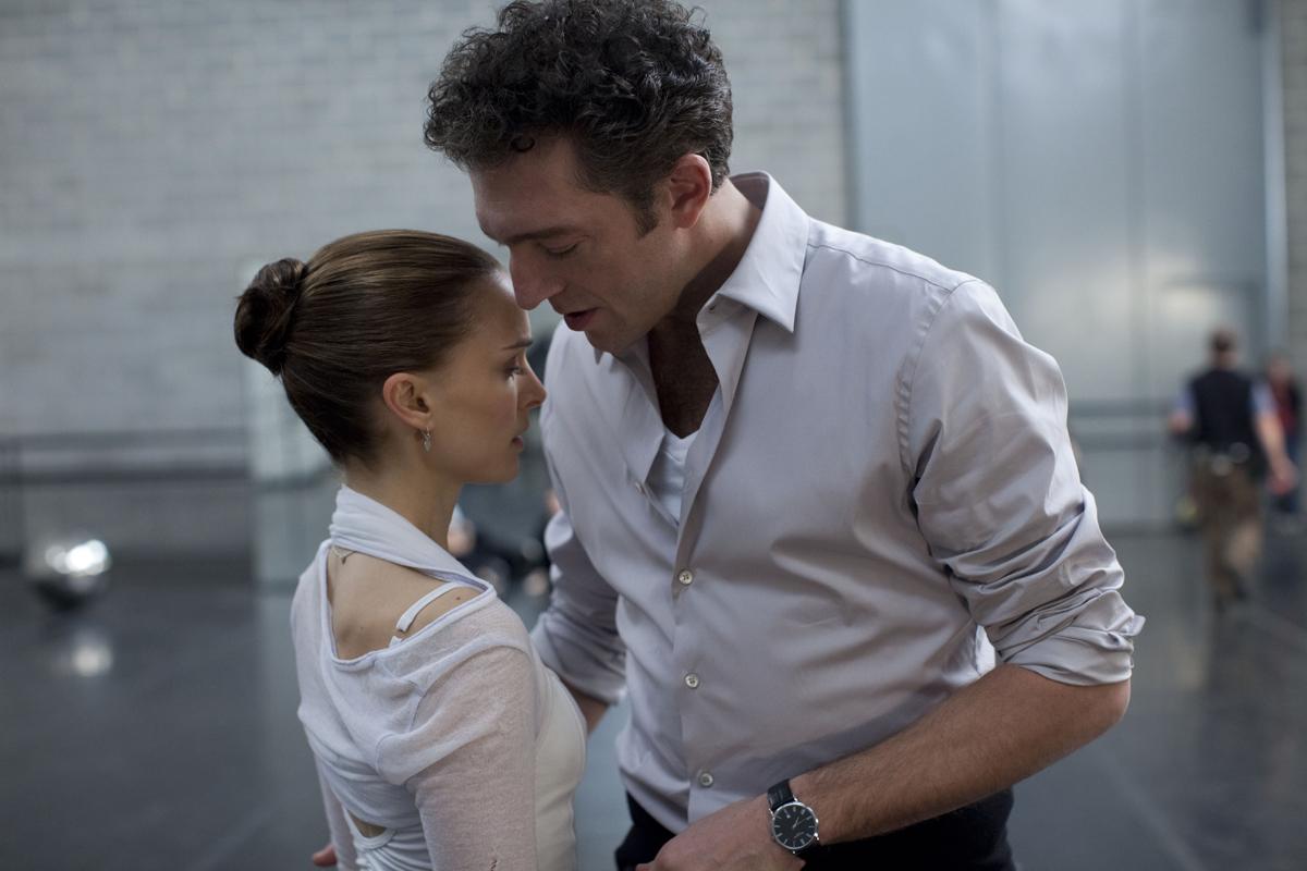 Natalie Portman et Vincent Cassel dans Black Swan