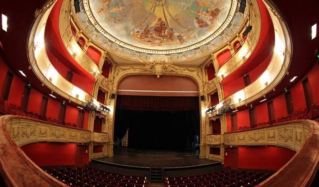 L'intérieur du Théâtre Jean Vilar