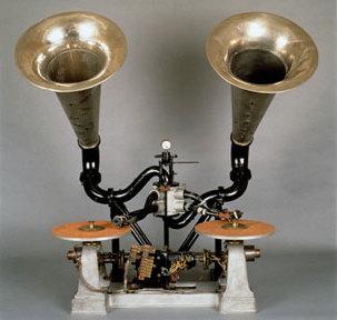 Un chronophone comme celui utilisé par Alice