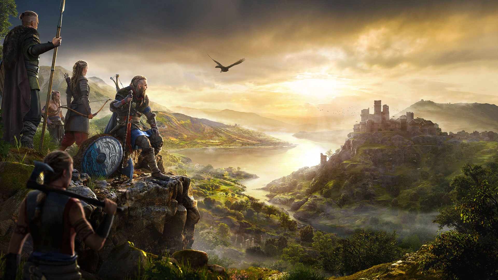 Assassin's Creed Valhalla paysage