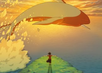 big fish and begonia wallpaper
