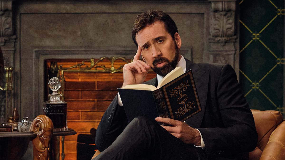"""Nicolas Cage dans """"History of Swear Words"""" ®Netflix"""