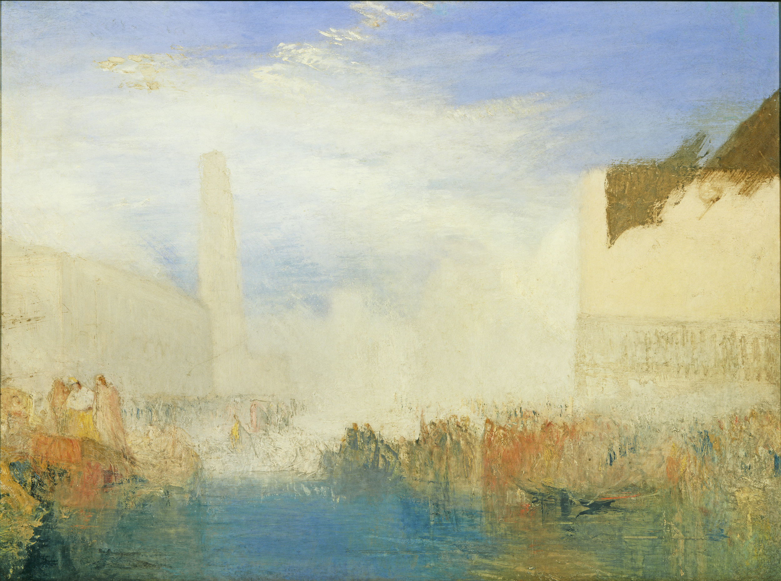 Venice, the Piazzetta with the Ceremony of the Doge Marrying the Sea