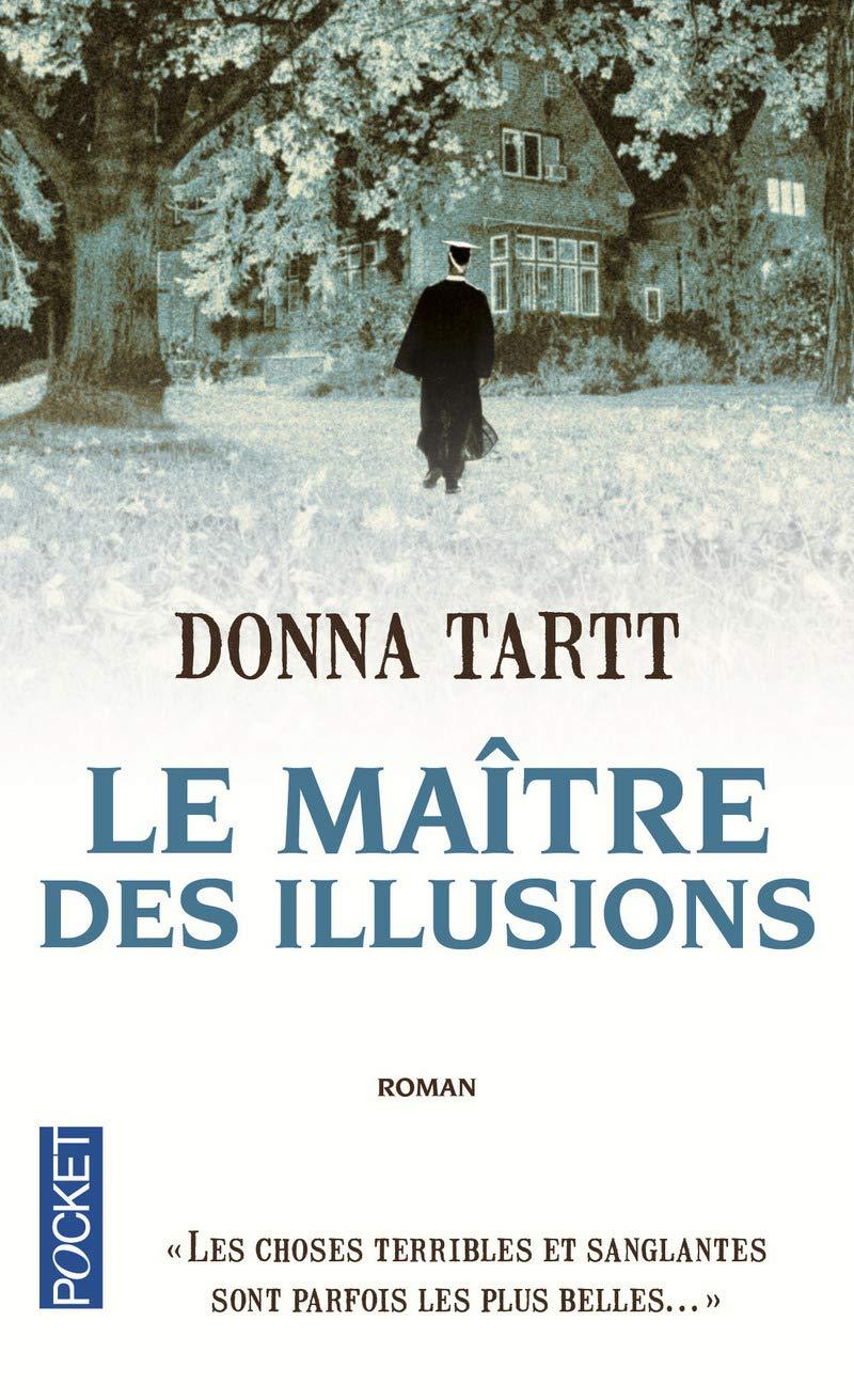 """Première de couverture du roman """"Maître des Illusions"""" de Donna Tartt"""
