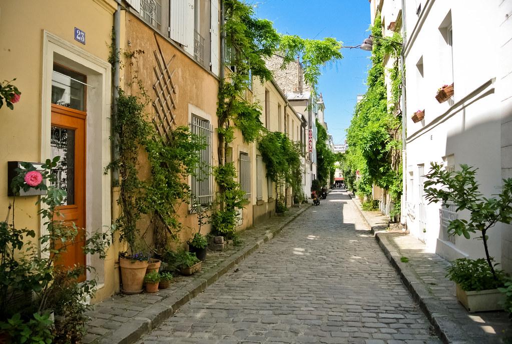 Lieu insolite : la rue des Thermopyles