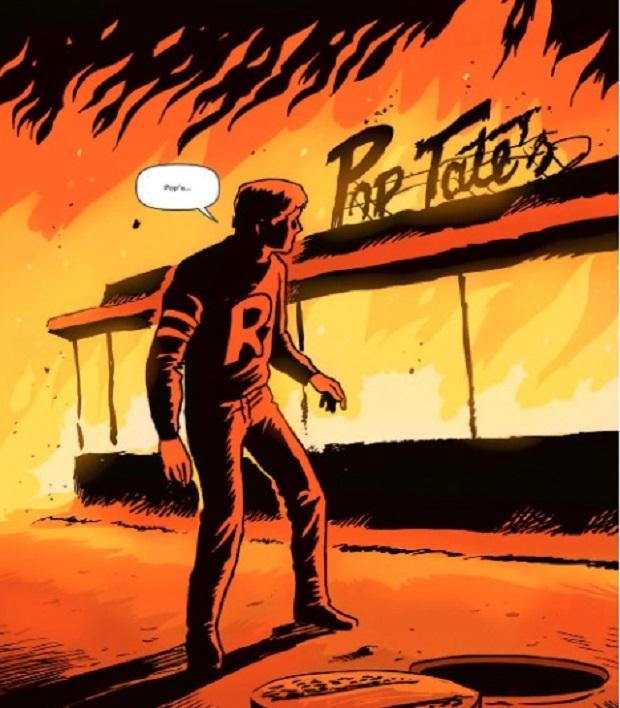 Riverdale en feu