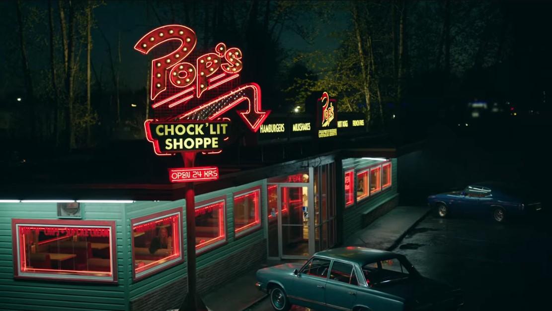 Pop's chock'lit shoppe. Le restaurant préféré d'Archie et ses amis dans Riverdale.