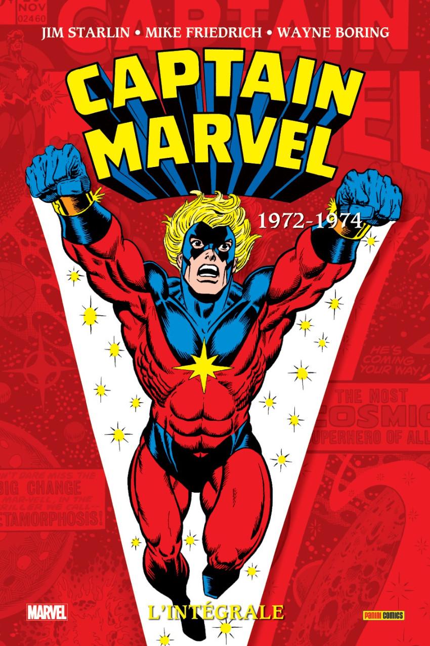 Captain Marvel, L'intégrale 1972-1974