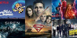 Meilleures séries de février