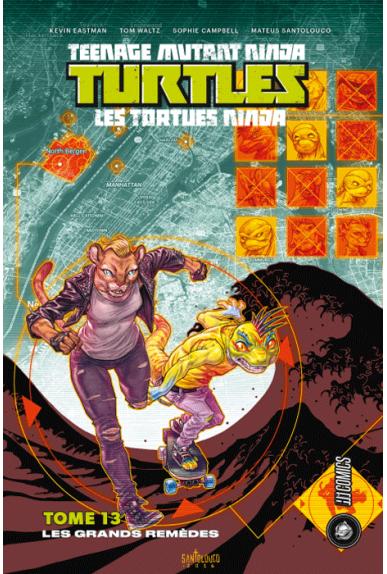 Tortues Ninja (Tome 13), Les grands remèdes