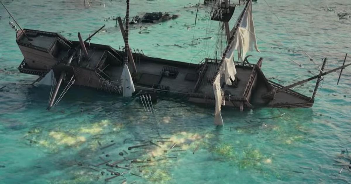 Les trésors échoués de la 3D / Dans le sillage des pirates ©Netflix