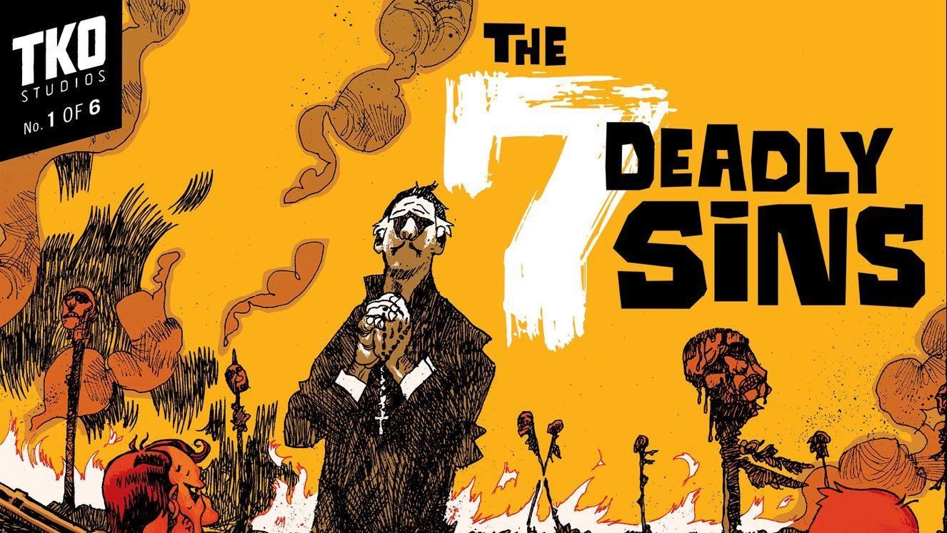 7 Deadly Sins une série de TKO chez Panini Comics