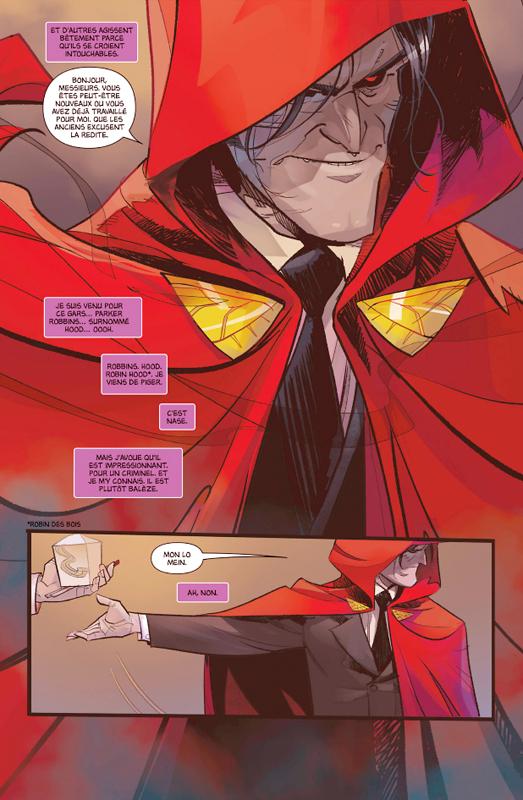 Hawkeye vs Hood