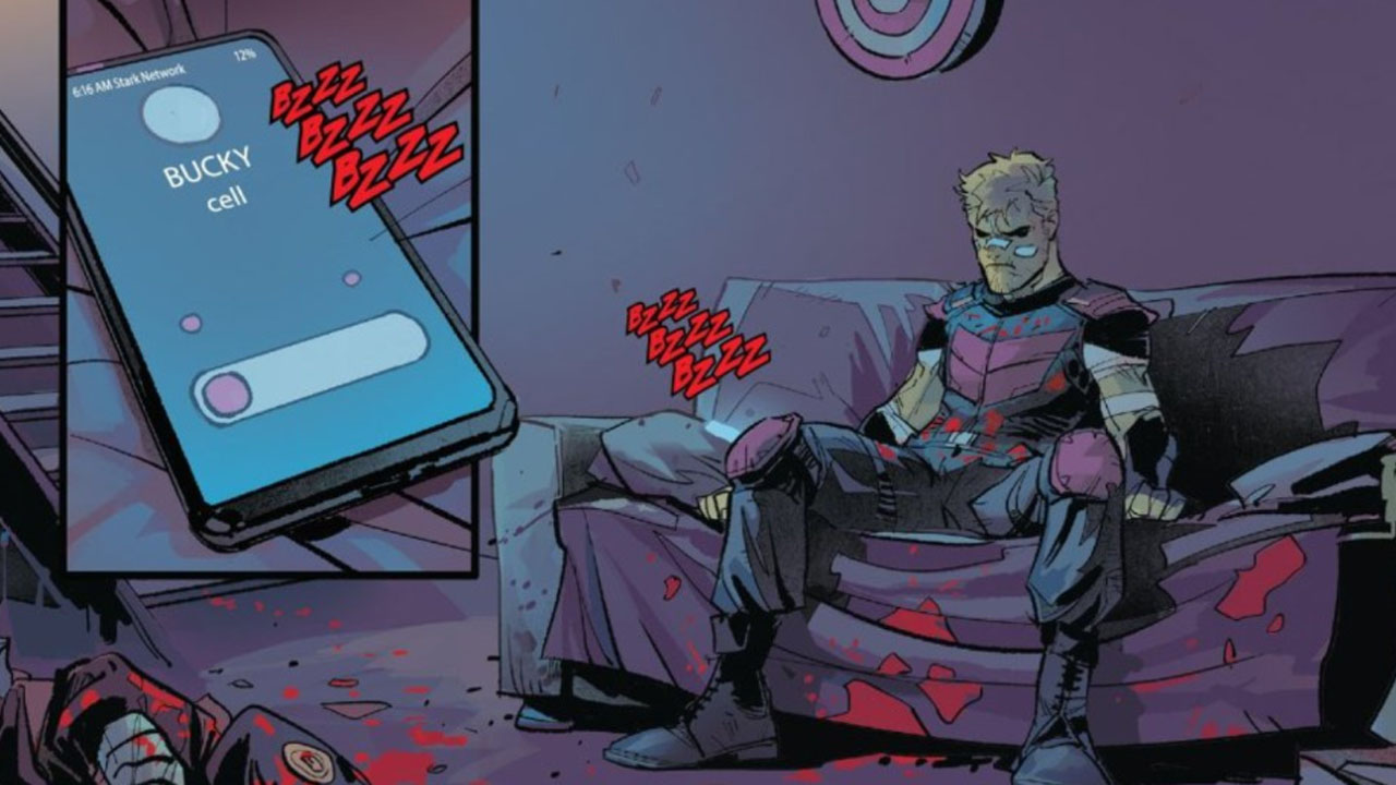 Hawkeye en chute libre