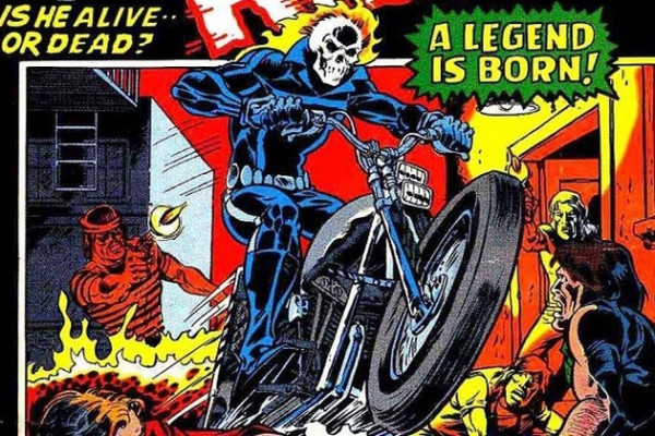 Ghost Rider le motard de Marvel