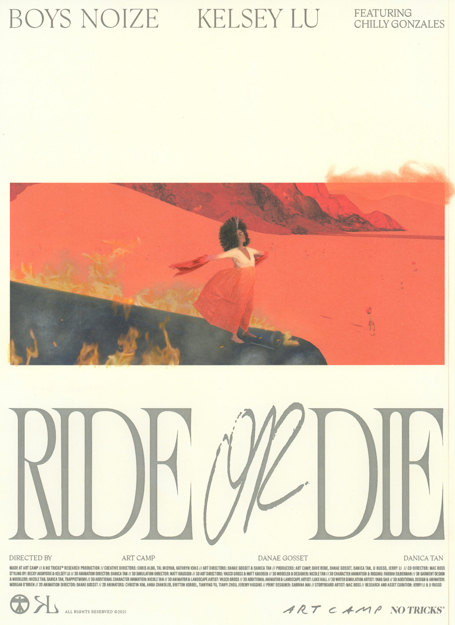"""Boys Noize & Kelsey Lu - """"Ride Or Die"""" feat. Chilly Gonzales"""