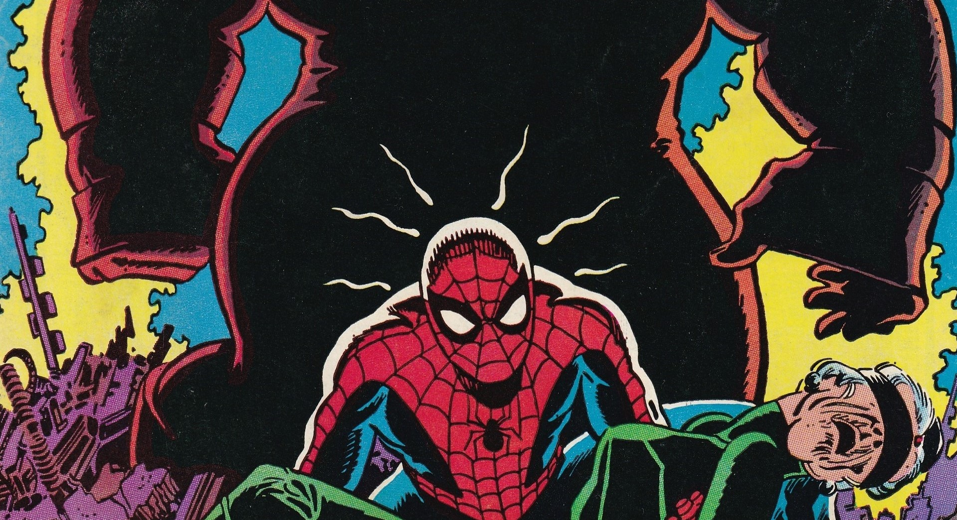 Spider-Man dans Les trésors de Marvel 1982