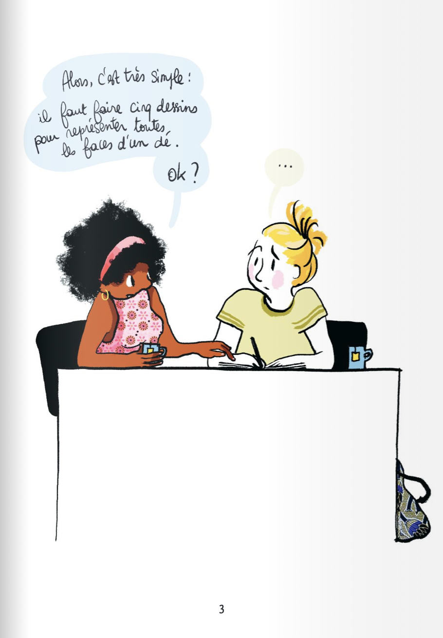 Les potes Tome 1 Mademoiselle Caroline Editions Delcourt