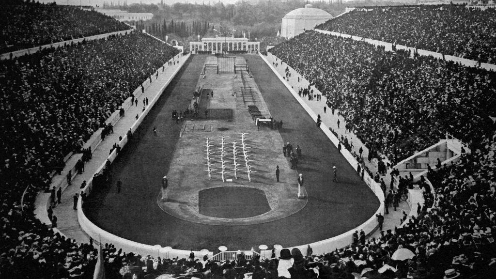 Premier Jeux Olymiques moderne à Athènes