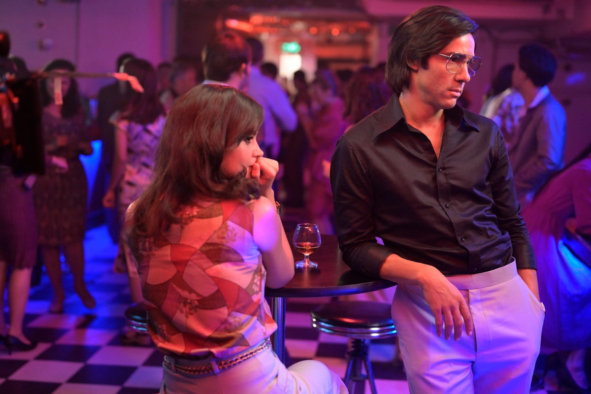 Jenna Coleman (Marie-Andrée Leclerc) & Tahar Rahim (Charles Sobhraj)