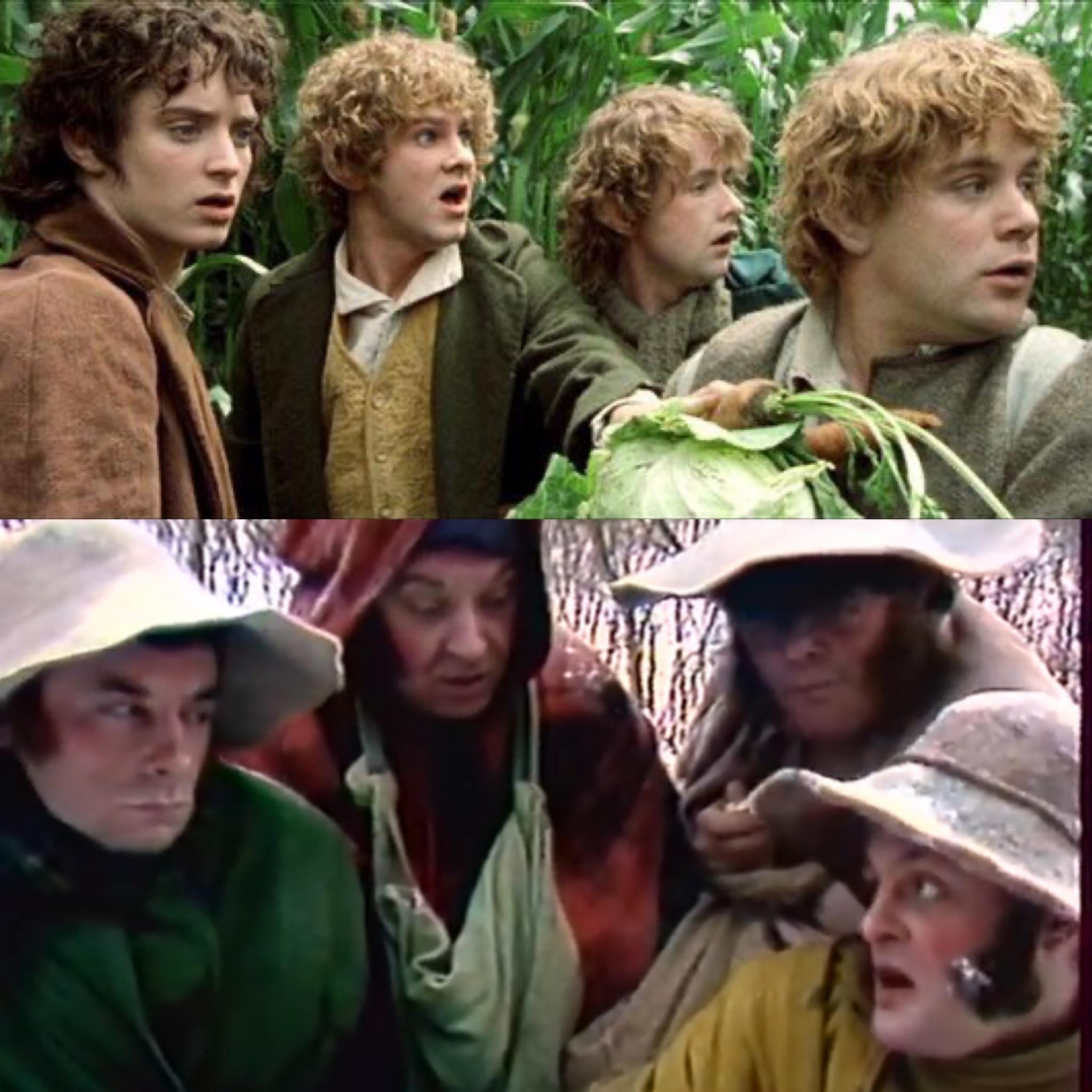 Hobbits Hidding