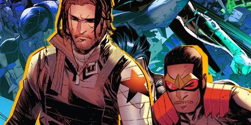 Sortez de la série et entrez dans les cases du Falcon & Winter Soldier