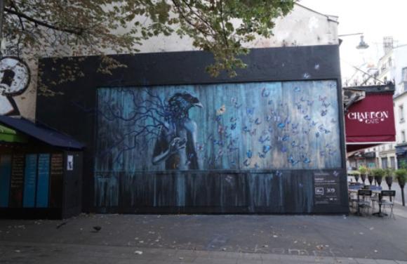 Œuvre d'art de street art