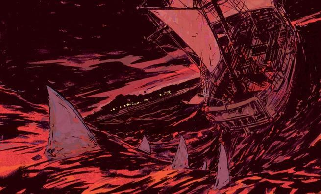 Shanghai Red du navire...
