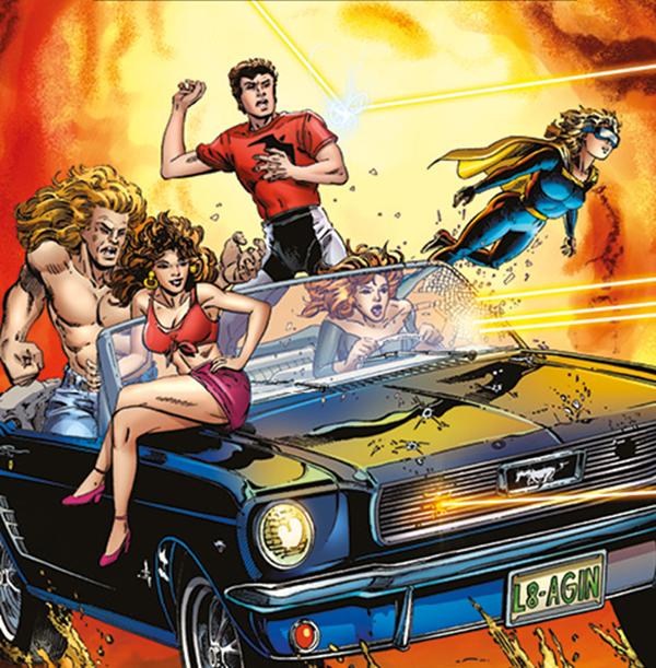 Harbinger, les premiers mutants de Valiant comics