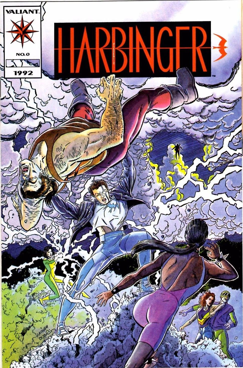 Combat entre mutants dans Harbinger