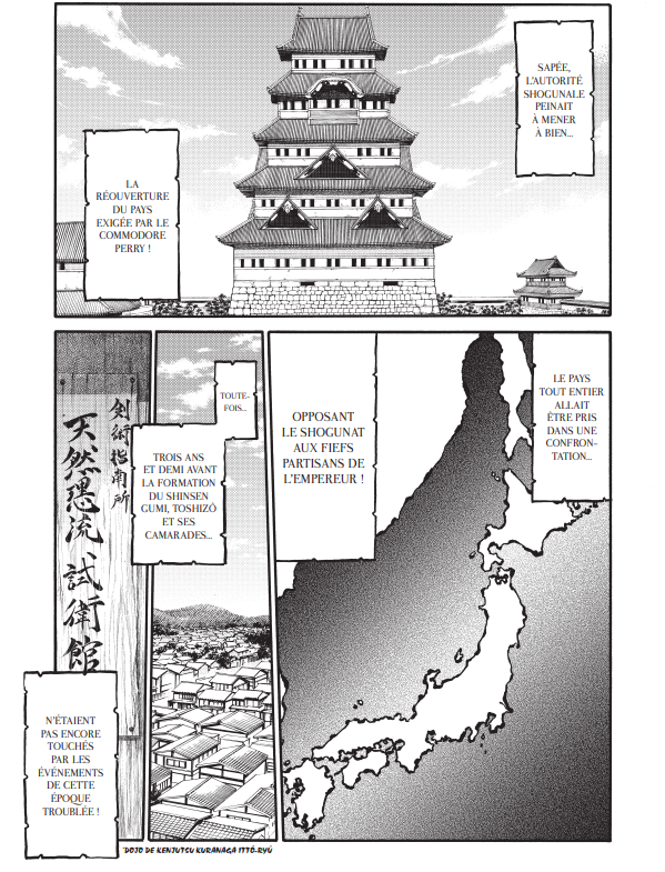 Chiruran d'Eiji Maysumoto et Shinya Umemura chez Mangetsu : Bakumatsu