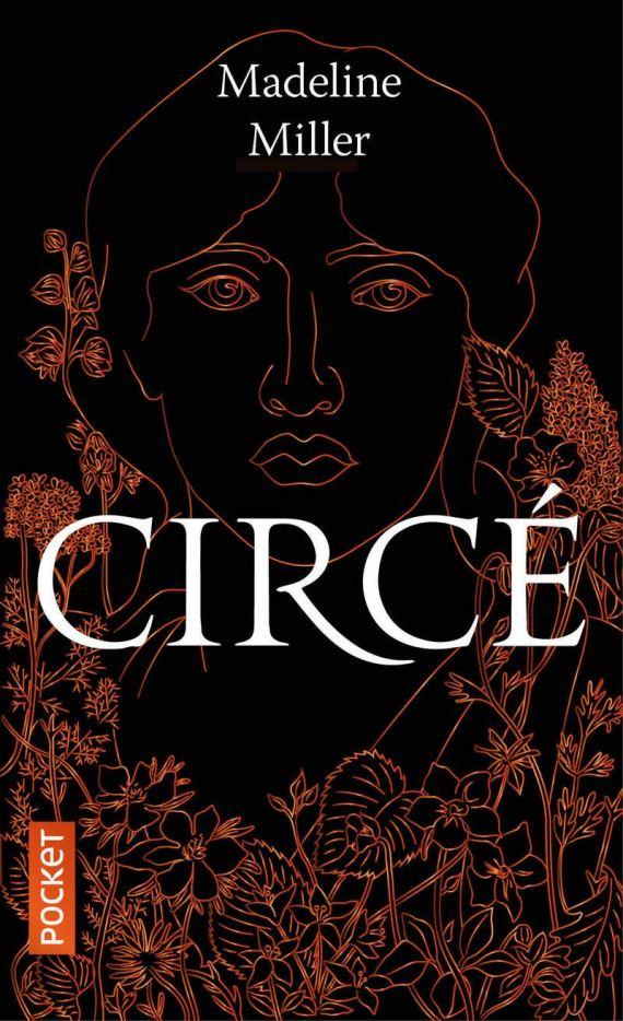 """La première de couverture de """"Circé"""", roman écrit par Madeline Miller, en 2018, édition Pocket."""