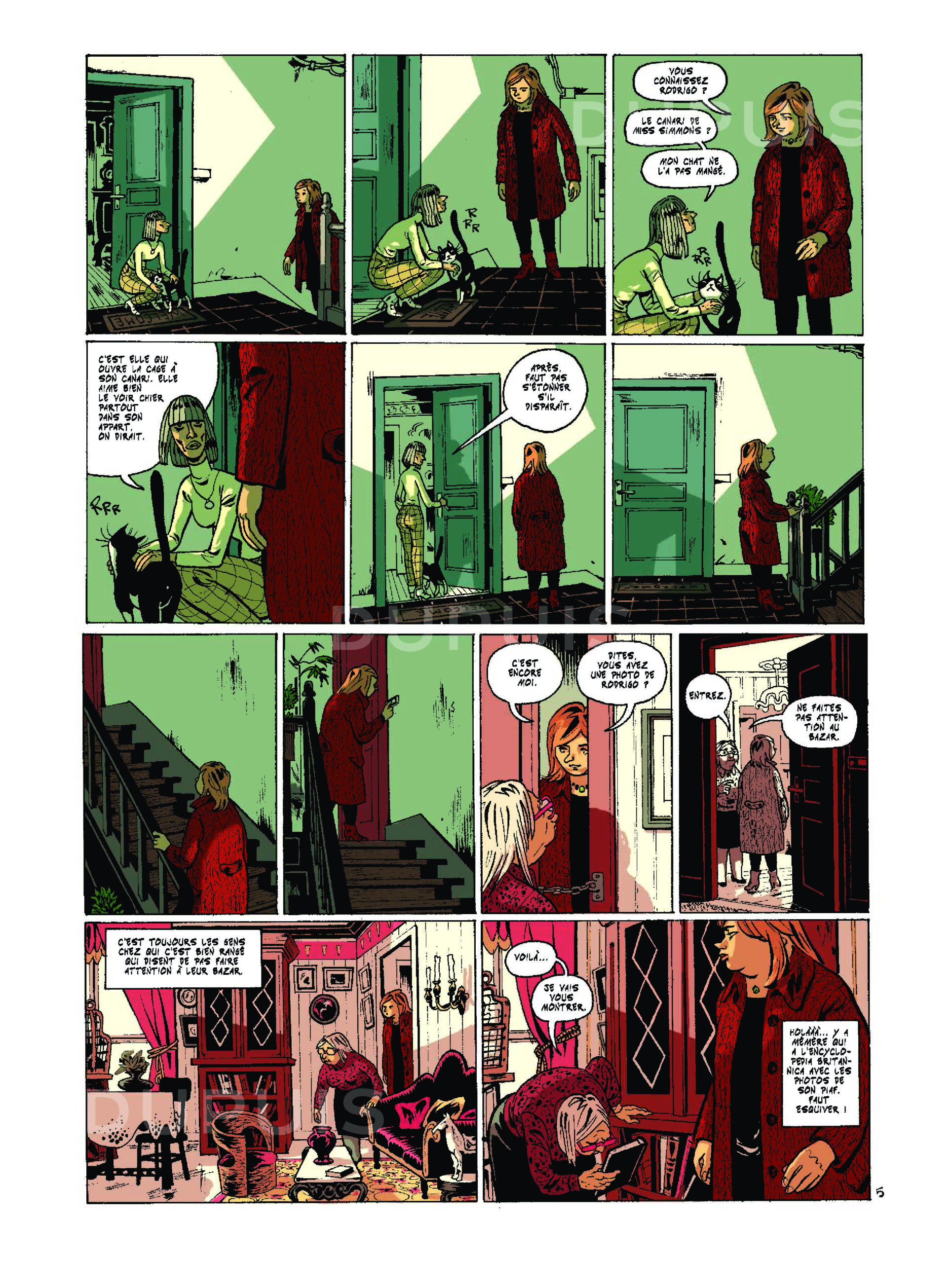 maggy garrisson page bd