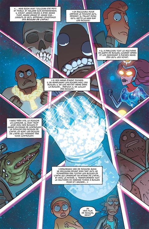 Une parodie de Thanos dans Rick and Morty présentent