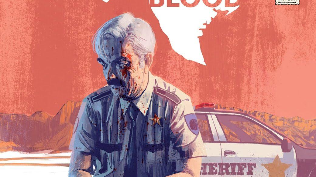 Une couverture de Texas Blood