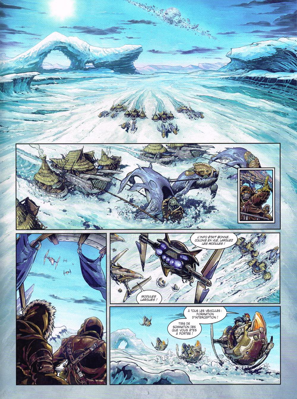 Une aventure glaciale dans Colonisation