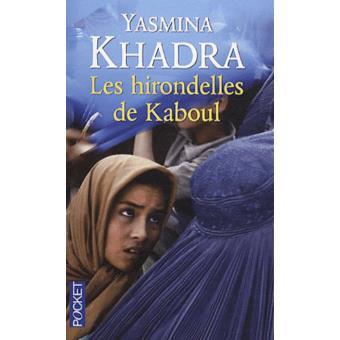 """Couverture du roman """"Les Hirondelles de Kaboul"""" de Yasmina Khadra."""