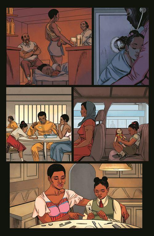 Une famille entre vol et éducation