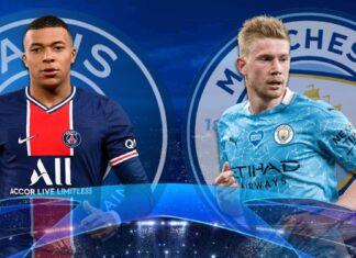 Revanche mardi PSG-Manchester City